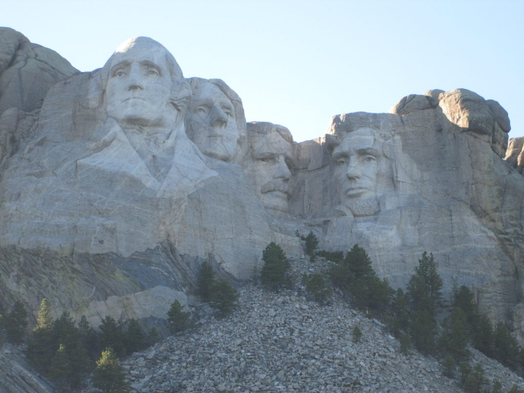 Photo of the iconic Mt. Rushmore, used as a representation of financial freedom.