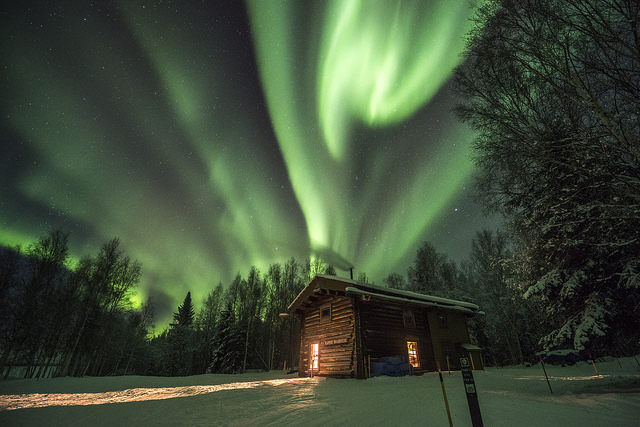 The Northern Lights, illustrating the phenomenon that is the power of compound interest.