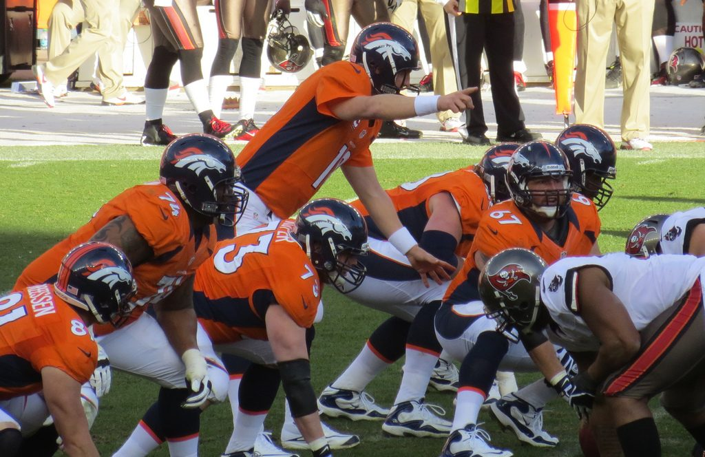 Broncos quarterback Peyton Manning changing his protection scheme at the line, just as you need to alter your budget plan to account for unexpected bills.